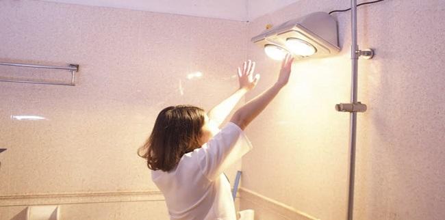 Dùng đèn sưởi nhà tắm vào mùa đông phải nhớ 3 điều này, nếu không muốn gặp rủi ro - Ảnh 3