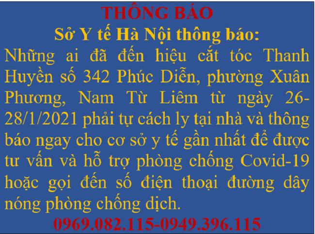 Sáng 1/2, có 2 ca mắc mới COVID-19 trong cộng đồng đều tại Hà Nội - Ảnh 2