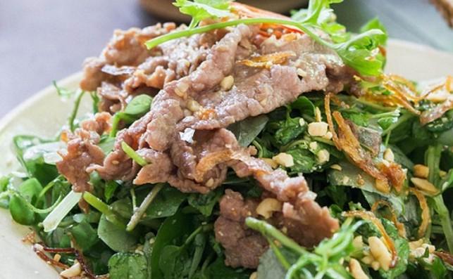 Thịt bò trộn rau càng cua đủ chất dinh dưỡng, lại giúp da đẹp lên trông thấy - Ảnh 2