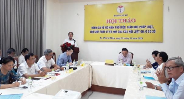 Chủ tịch Hội Luật gia Việt Nam Nguyễn Văn Quyền: Tham gia xây dựng chính sách, pháp luật ngày càng có hiệu quả - Ảnh 2