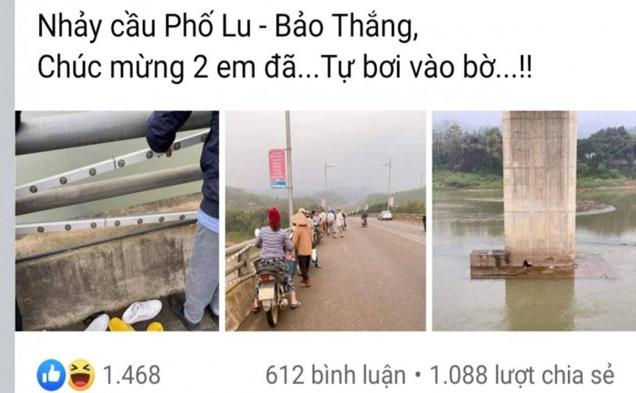 Thực hư tin đồn đôi nam nữ nhảy cầu vì bị ngăn cấm tình yêu ở Lào Cai - Ảnh 2