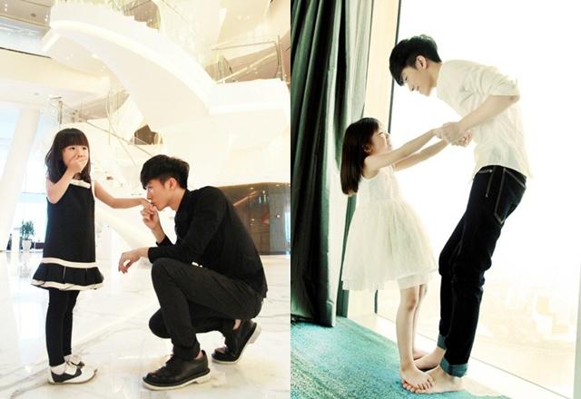 """Em gái kém 18 tuổi của """"anh trai tốt nhất Trung Quốc"""" đã ra dáng thiếu nữ, ngắm ảnh ai cũng ngẩn ngơ - Ảnh 1"""