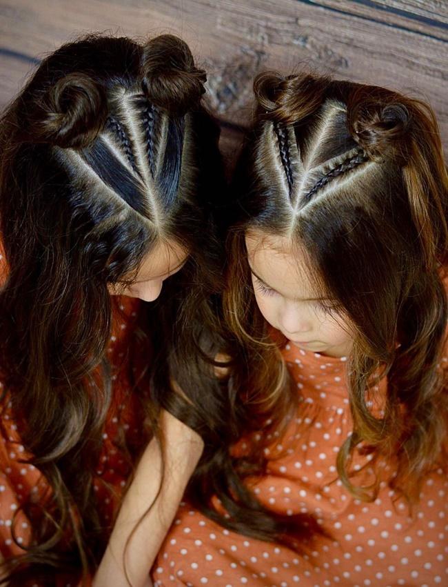 Mê mẩn trước 1001 kiểu tóc mẹ tết cho con gái, mái tóc thành kiệt tác 3D tuyệt phẩm - Ảnh 3