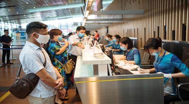 Sân bay Vân Đồn mở cửa trở lại từ ngày 3/3, nâng mức độ an toàn phòng dịch COVID-19 - Ảnh 1