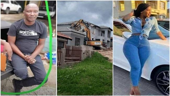 """Video: Bị """"đá"""" không thương tiếc, doanh nhân san phẳng biệt thự đã xây cho người tình - Ảnh 1"""