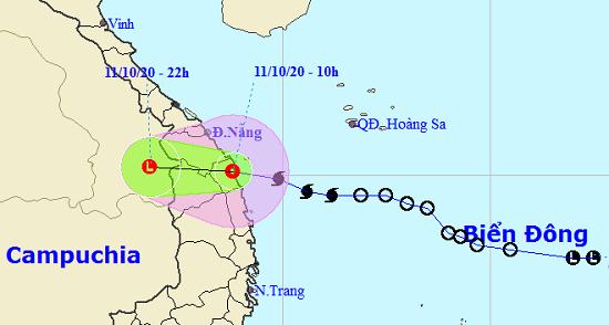Bão số 6 suy yếu thành áp thấp nhiệt đới, gió giật cấp 9 - Ảnh 1