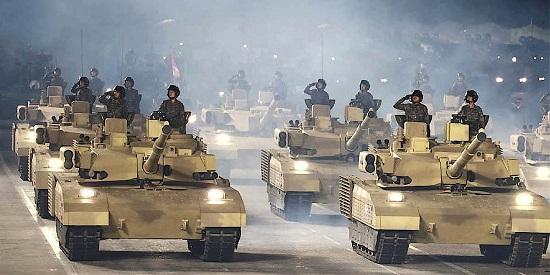 """Triều Tiên hé lộ mẫu xe tăng mới từng xuất hiện """"chớp nhoáng"""" trong lễ duyệt binh - Ảnh 1"""