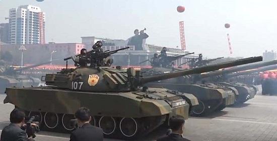 """Triều Tiên hé lộ mẫu xe tăng mới từng xuất hiện """"chớp nhoáng"""" trong lễ duyệt binh - Ảnh 3"""