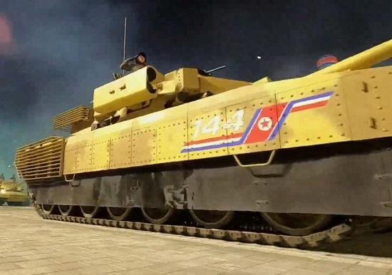 """Triều Tiên hé lộ mẫu xe tăng mới từng xuất hiện """"chớp nhoáng"""" trong lễ duyệt binh - Ảnh 5"""