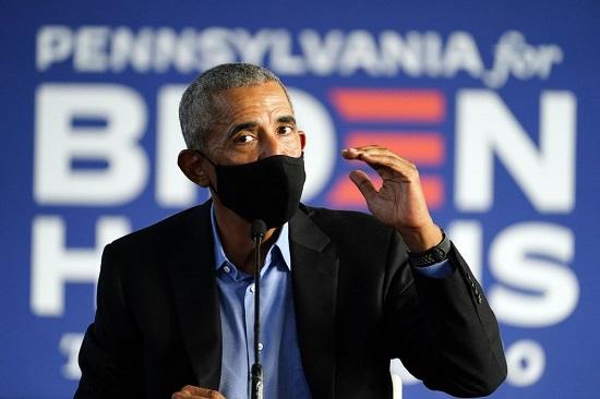"""Bầu cử Mỹ 2020: Ông Obama kêu gọi cử tri giúp """"đối thủ"""" của Tổng thống Trump  - Ảnh 1"""