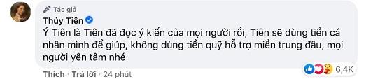 Tranh cãi việc Thủy Tiên xin trích quỹ cứu trợ miền Trung giúp đỡ 200 người lao động Việt - Ảnh 3