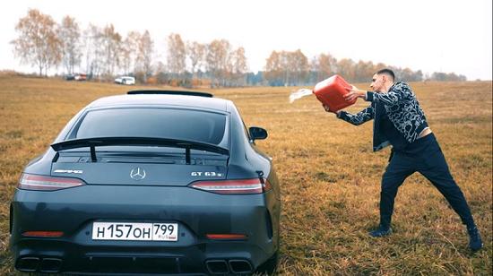 """Xế sang tiền tỷ Mercedes-AMG GT 63S bị thiêu rụi bởi """"khá bảnh bản quốc tế""""  - Ảnh 1"""