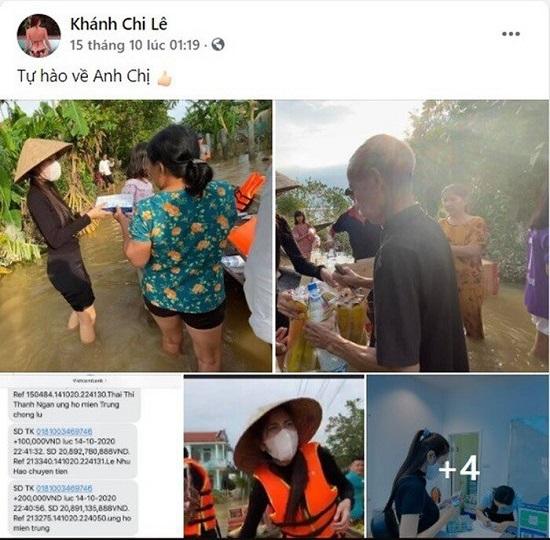 """Em chồng Thủy Tiên bức xúc khi chị dâu bị """"soi mói"""" chuyện đi làm từ thiện  - Ảnh 2"""
