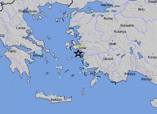 Động đất 7 độ gây sóng thần, làm rung chuyển Hy Lạp và Thổ Nhĩ Kỳ  - Ảnh 2