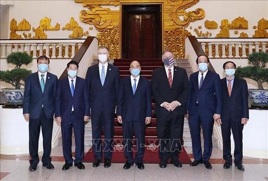 Thủ tướng Chính phủ Nguyễn Xuân Phúc tiếp Ngoại trưởng Hoa Kỳ Michael Pompeo - Ảnh 3
