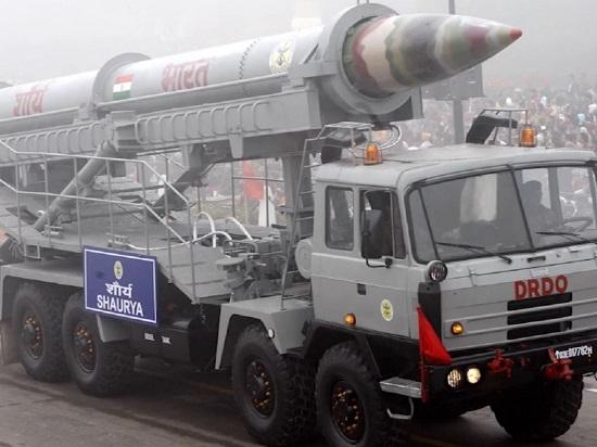 Ấn Độ thử nghiệm thành công tên lửa chiến thuật siêu âm Shaurya - Ảnh 1