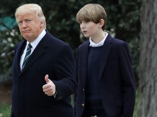 """""""Hoàng tử Nhà Trắng"""" Barron Trump và loạt khoảnh khắc gây bão cộng đồng mạng  - Ảnh 4"""