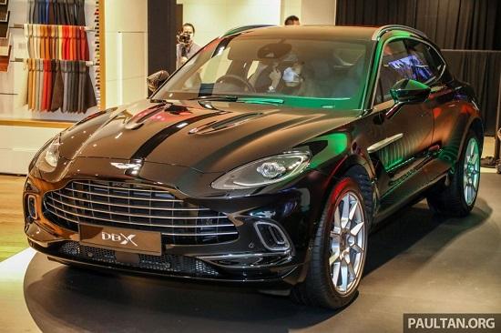 """""""SUV hạng sang"""" Aston Martin DBX ra mắt Malaysia từ 4,6 tỷ đồng, ngày về Việt Nam không còn xa  - Ảnh 1"""
