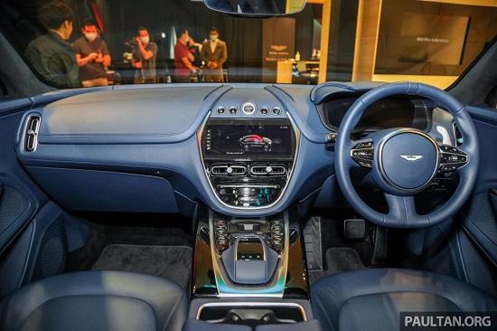 """""""SUV hạng sang"""" Aston Martin DBX ra mắt Malaysia từ 4,6 tỷ đồng, ngày về Việt Nam không còn xa  - Ảnh 4"""