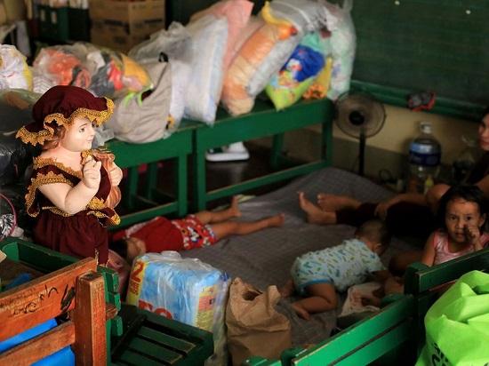 """Chùm ảnh: Siêu bão Goni """"càn quét"""" Philippines với sức mạnh tàn khốc  - Ảnh 6"""
