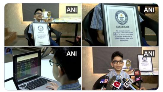 Cậu bé 6 tuổi phá kỷ lục Guiness, trở thành lập trình viên trẻ nhất thế giới - Ảnh 2
