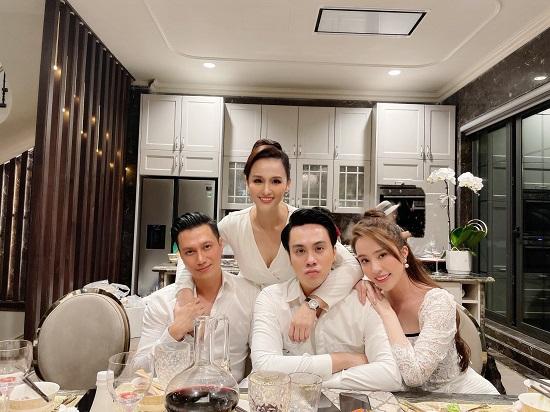 """Lã Thanh Huyền đón sinh nhật ở biệt thự """"sang chảnh"""" với dàn nghệ sĩ nổi tiếng  - Ảnh 2"""