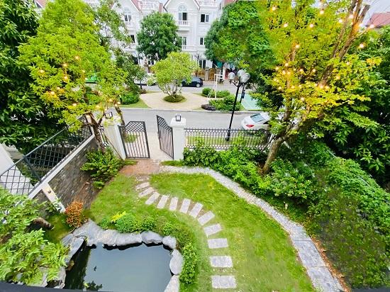 """Cận cảnh biệt thự rộng 450 m2, """"sang chảnh"""" như khách sạn 5 sao của Lã Thanh Huyền  - Ảnh 8"""
