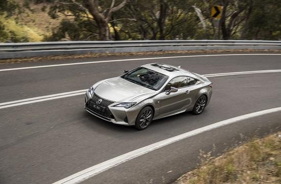 Lexus RC 2021 ra mắt với nhiều nâng cấp mới lạ, giá bán từ 1,1 tỷ đồng  - Ảnh 4