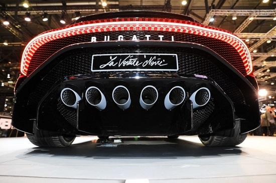 Chiêm ngưỡng siêu xe đắt nhất thế giới Bugatti La Voiture Noire - Ảnh 5
