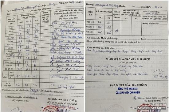 """Hé lộ bảng điểm cao """"ngất ngưởng"""" của á hậu Phương Anh: IELTS 8.0, điểm trung bình THPT 9,5 - Ảnh 3"""