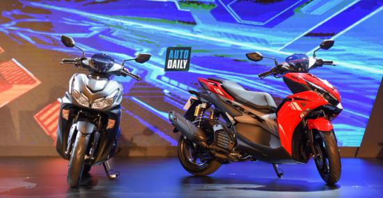 Yamaha NVX 2021 ra mắt giá 53 triệu đồng, quyết đấu Honda Air Blade  - Ảnh 1