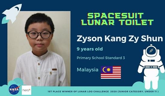 """""""Nhà phát minh"""" 9 tuổi thắng giải thiết kế nhà vệ sinh cho NASA  - Ảnh 2"""