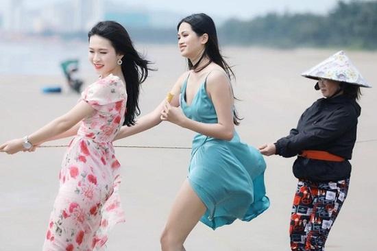 """Bộ ảnh kéo lưới bị chê """"giả trân"""" của dàn thí sinh Hoa hậu Việt Nam 2020  - Ảnh 2"""