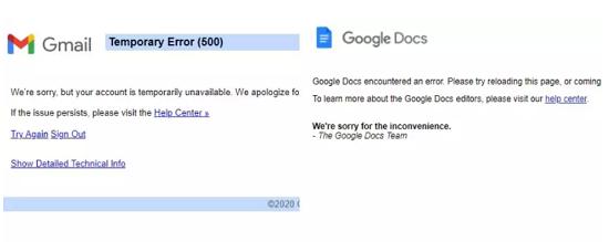 Youtube, Gmail và loạt ứng dụng Google bất ngờ gặp sự cố trên toàn cầu  - Ảnh 2