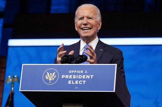 Ông Joe Biden có bài phát biểu đầu tiên sau khi đắc cử tổng thống Mỹ - Ảnh 1