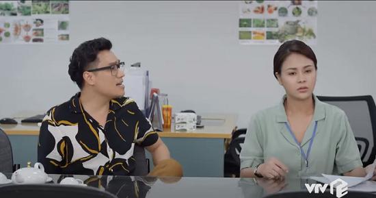 """Hướng dương ngược nắng tập 2: Minh Châu (Hồng Diễm) """"dằn mặt"""" bạn trai Trung Kiên nếu có ý định phản bội  - Ảnh 2"""