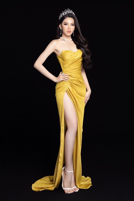"""Cận cảnh nhan sắc """"thăng hạng"""" của Hoa hậu Đỗ Thị Hà cùng 2 Á hậu trong bộ ảnh mới toanh - Ảnh 6"""