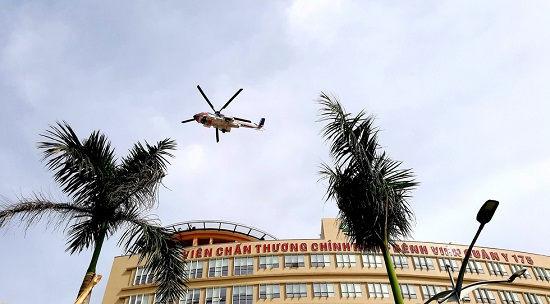 Cận cảnh sân bay trực thăng cấp cứu đầu tiên được cấp phép ở Việt Nam  - Ảnh 1