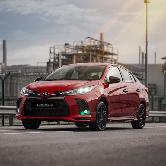 Toyota Vios 2021 bản thể thao bất ngờ lộ diện, giá từ 558,8 triệu đồng - Ảnh 1