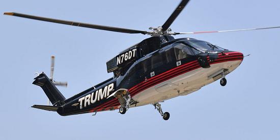 """Bộ sưu tập máy bay tư nhân """"sang - xịn"""" của Tổng thống Trump  - Ảnh 4"""