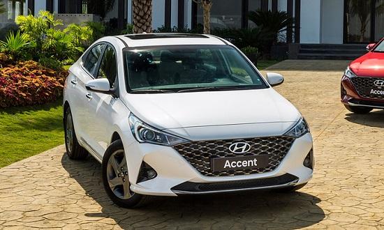 Bảng giá xe ô tô Huyndai mới nhất tháng 12/2020: Mẫu sedan Huyndai Accent 2021 giữ nguyên giá 426,1 triệu đồng  - Ảnh 1