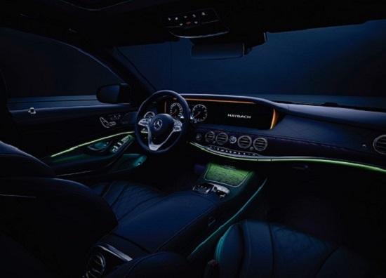 """Bóc giá """"xế xịn"""" Mercedes-Maybach S450 trong đám cưới Công Phượng: Đèn nội thất 64 màu, cửa sổ trời đổi màu - Ảnh 4"""