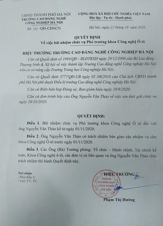 """Chuyện """"lạ"""" tại Hà Nội: Không có bằng THPT nhưng vẫn làm giảng viên - Ảnh 2"""