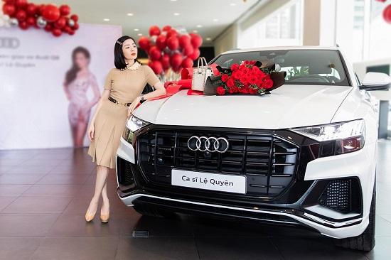 """""""Nữ hoàng phòng trà"""" Lệ Quyên mạnh tay chi hơn 5 tỷ đồng mua xe sang Audi Q8  - Ảnh 1"""