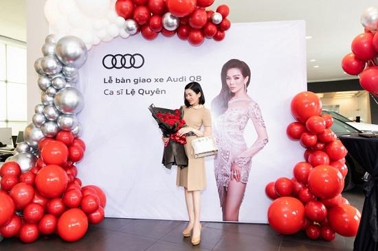 """""""Nữ hoàng phòng trà"""" Lệ Quyên mạnh tay chi hơn 5 tỷ đồng mua xe sang Audi Q8  - Ảnh 4"""