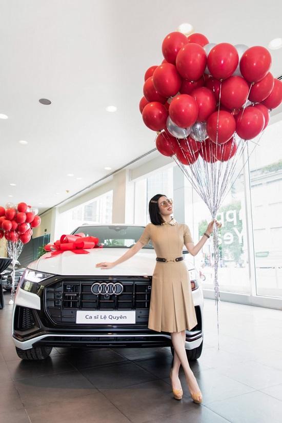 """""""Nữ hoàng phòng trà"""" Lệ Quyên mạnh tay chi hơn 5 tỷ đồng mua xe sang Audi Q8  - Ảnh 5"""