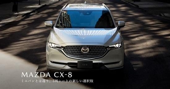 """""""Soi"""" mẫu Mazda CX-8 2021 siêu sang, giá từ 1,05 tỷ đồng  - Ảnh 1"""