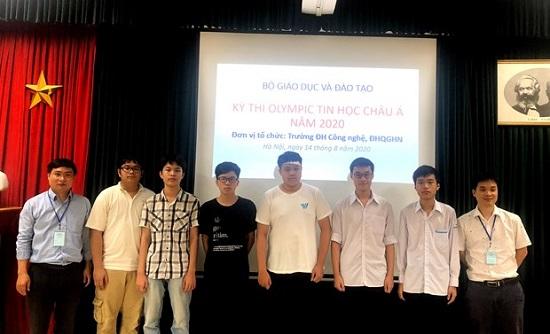 Học sinh Việt Nam đạt huy chương vàng tại Olympic Tin học châu Á - Ảnh 1