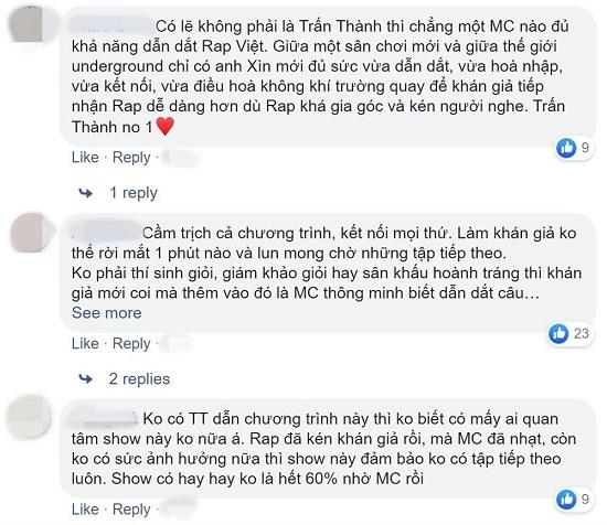 """Trịnh Thăng Bình lên tiếng bênh vực Trấn Thành trước xôn xao làm MC """"Rap Việt""""  - Ảnh 5"""