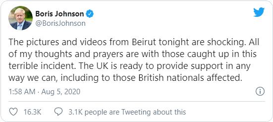 Cộng đồng quốc tế đề nghị hỗ trợ Lebanon sau vụ nổ thảm khốc khiến gần 4.000 người thương vong - Ảnh 5